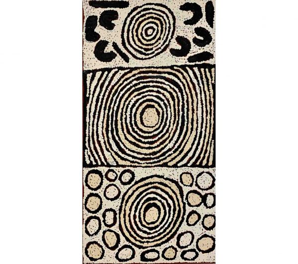 Aboriginal artwork by Jacqueline Nakamarra