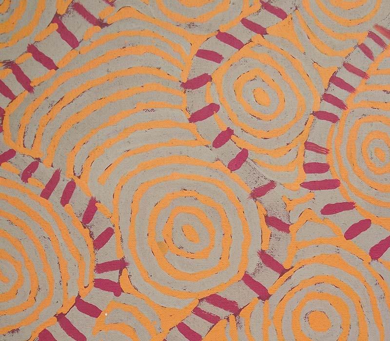 Aboriginal artworks by Johnny Yungut Tjupurrula
