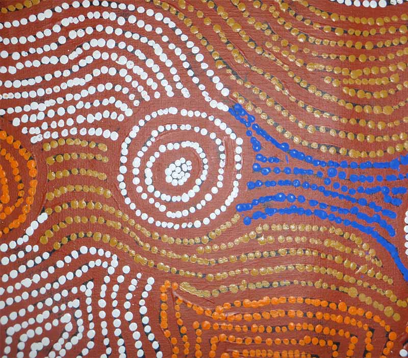 Aboriginal artworks by Maisie Campbell Napaltjarri