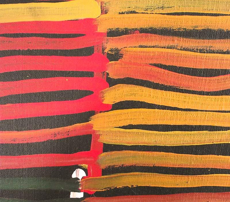 Aboriginal artworks by Minnie Pwerle