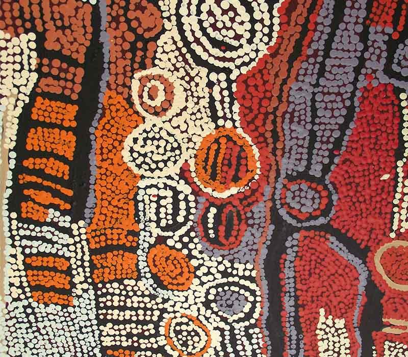 Aboriginal artworks by Naata Nungurrayi
