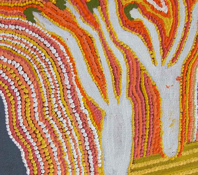 Aboriginal artworks by Bai Bai Napangarti