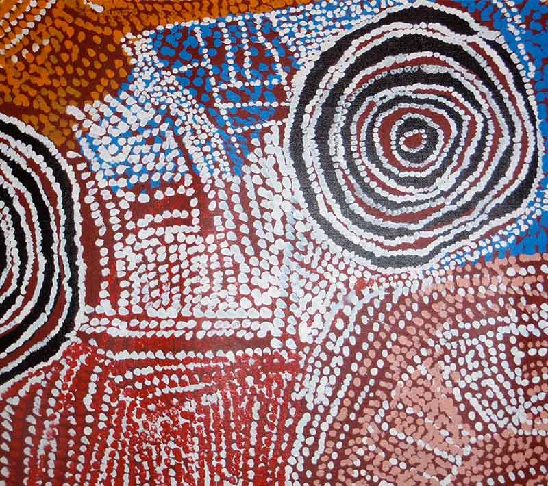 Aboriginal artworks by Bill Whiskey Tjapaltjarri