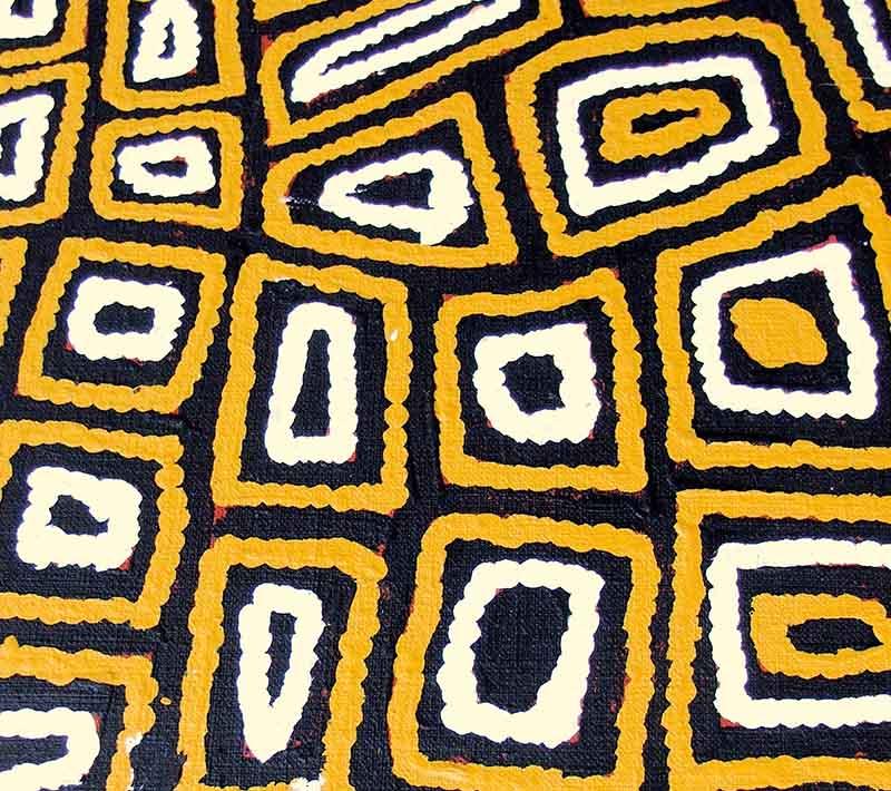 Aboriginal artworks by Charlie Ward Tjakamarra