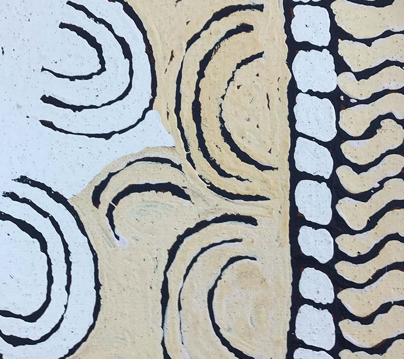 Aboriginal artworks by Josephine Napurrula