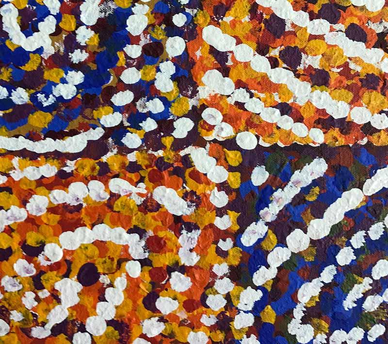 Aboriginal artworks by Maree Mudgedell Nakamarra