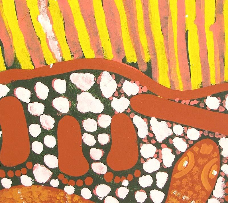 Aboriginal artworks by Neville McArthur