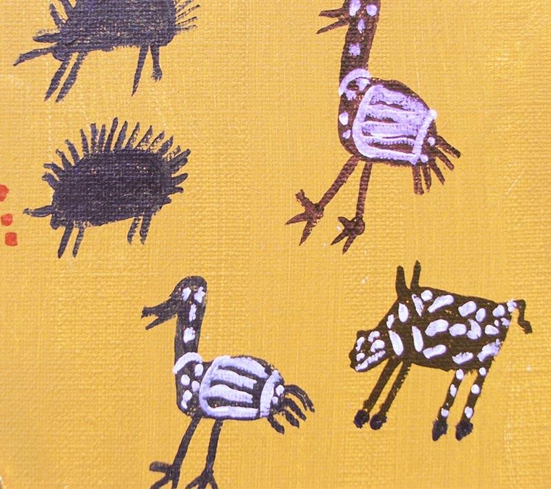 Aboriginal artworks by Norman Kingsley