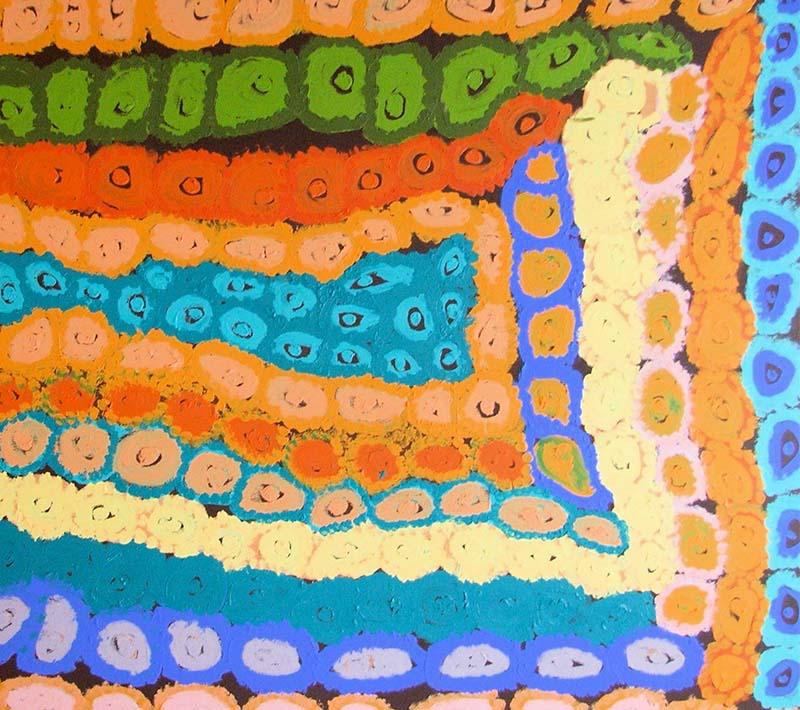 Aboriginal artworks by Sally Liki