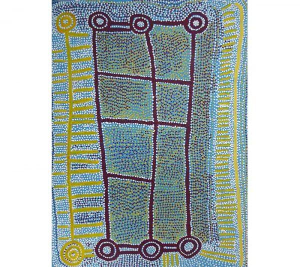 Aboriginal artworks by Shorty Jangala Robertson