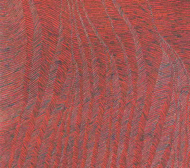 Aboriginal artworks by Charlotte Phillipus Napurrula