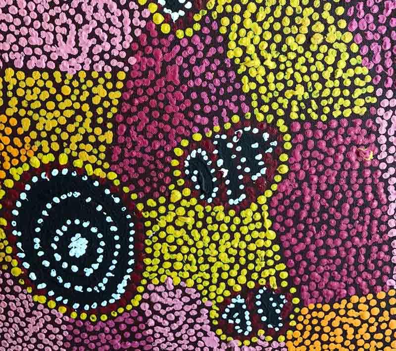 Aboriginal artworks by Jack Ross Jakamarra