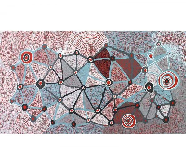 Aboriginal artworks by Martha McDonald Napaltjarri