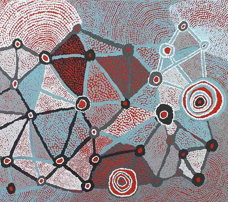 Aboriginal artworks by Martha McDonald