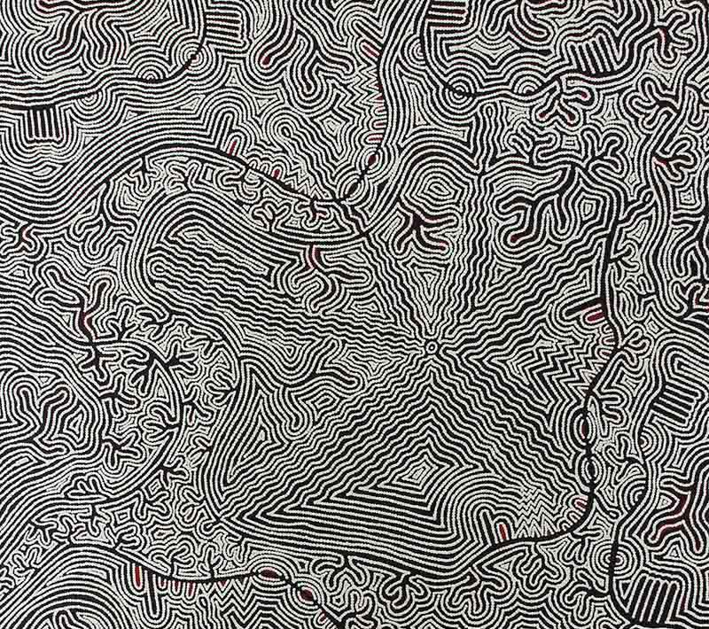 Aboriginal artworks by Mary Roberts Nakamarra