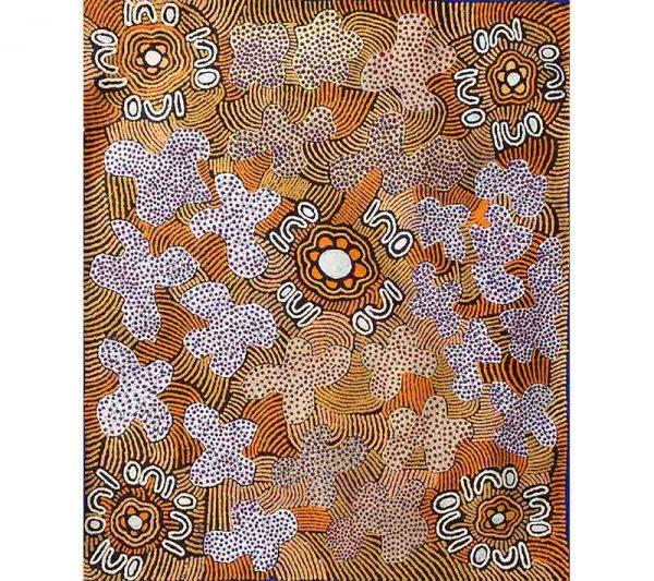 Aboriginal artworks by Emily Andy Napaltjarri
