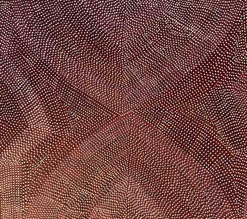 Aboriginal artworks by Maureen Poulson Napangarti