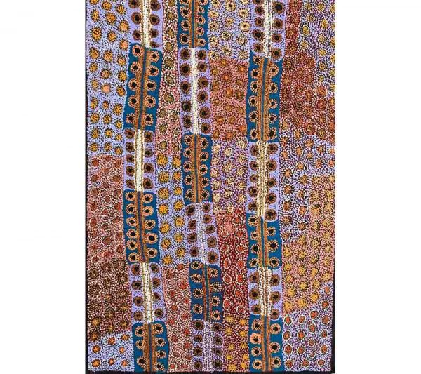 Aboriginal artworks by Tjimpayi Presley