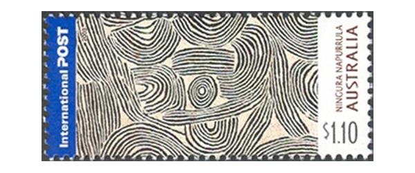 Ningura Napurrula stamp