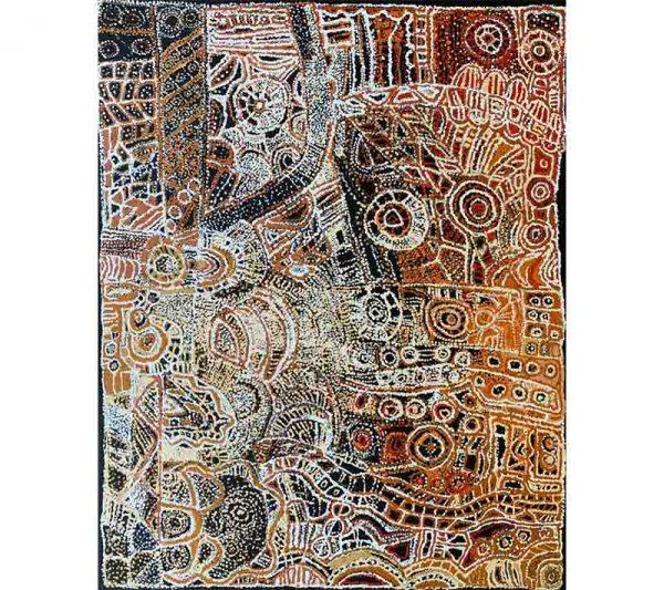 Aboriginal artworks by Stanley Douglas