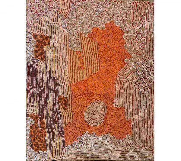 Aboriginal artworks by Walangkura Napanangka