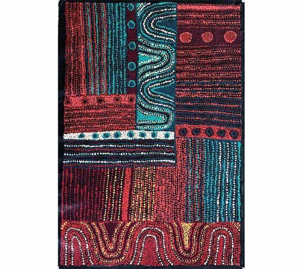Aboriginal artworks by Alison Munti Riley