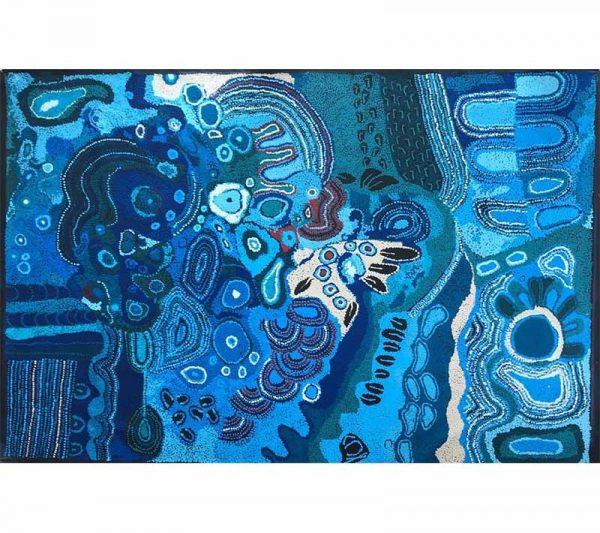 Aboriginal artwork by Andrea Adamson