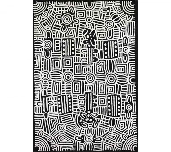 Aboriginal artwork by Doreen Dickson Nakamarra