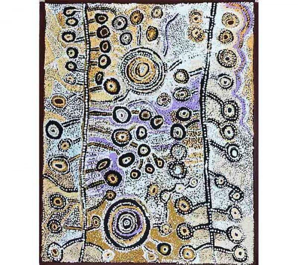 Aboriginal artwork by Katie Curley