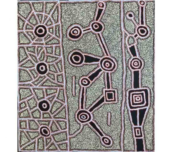 Aboriginal artwork by Mary Brown Napangardi