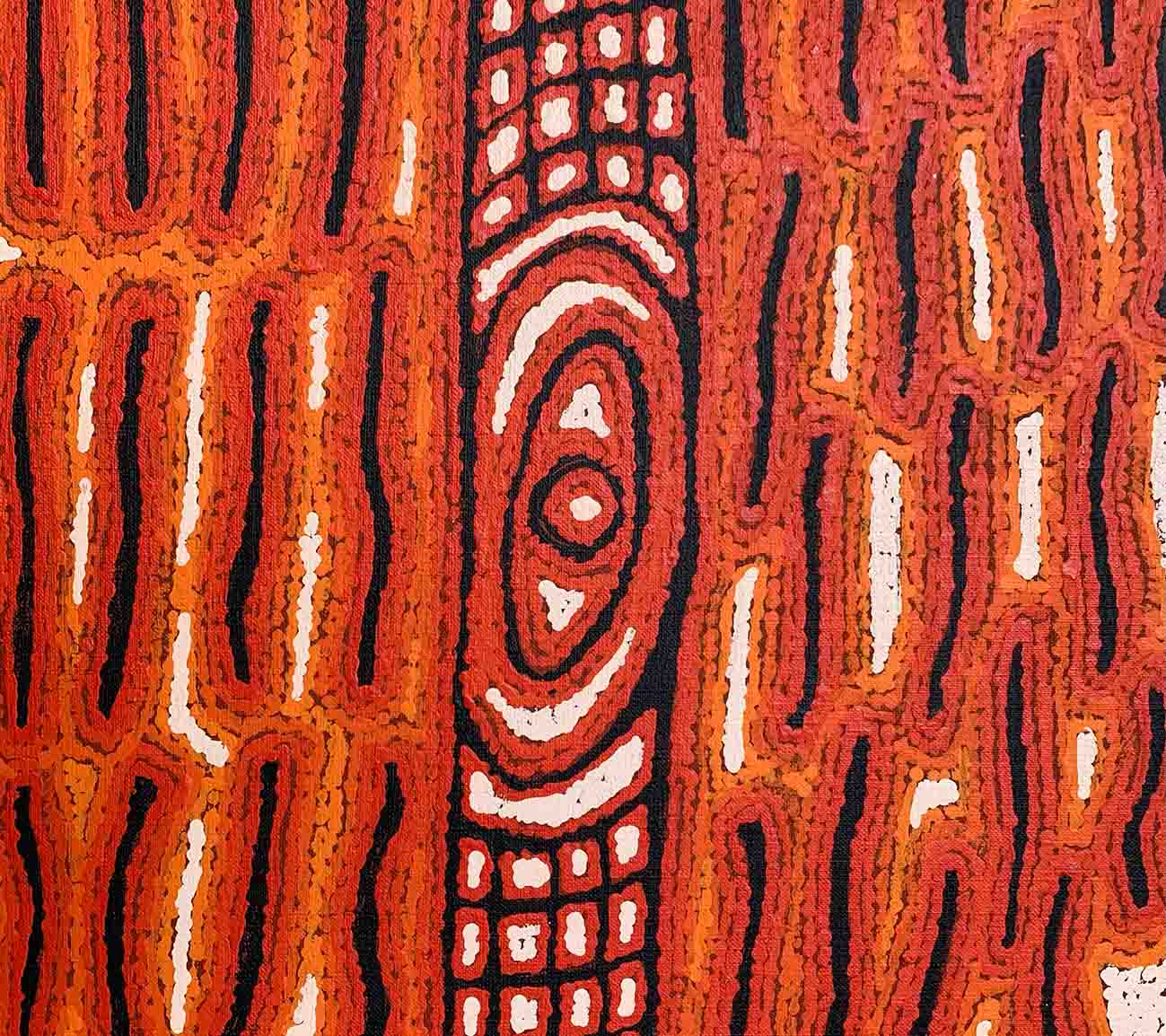 Aboriginal artwork by Eileen Napaltjarri