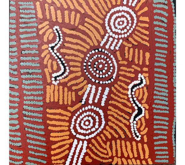 Aboriginal artwork by Maggie Porter