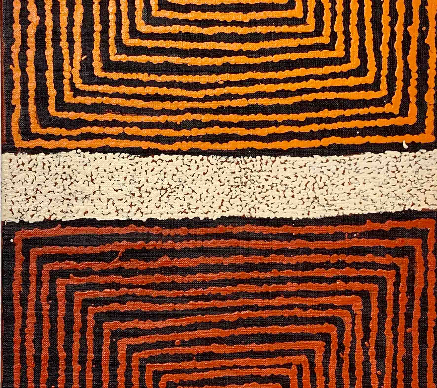 Aboriginal artwork by Morris-Gibson-Tjapaltjarri
