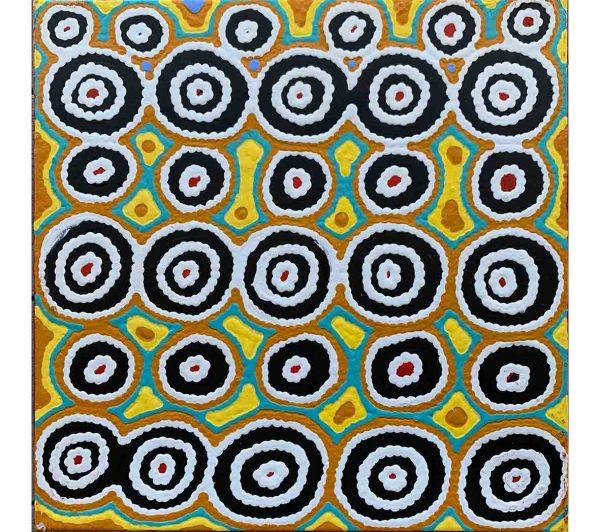 Aboriginal artwork by Cecily Napanangka Marshall