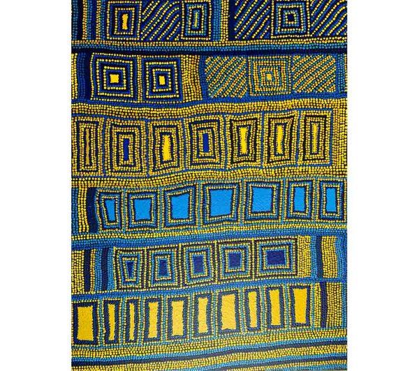 Aboriginal art work by Glenda Thompson Adamson
