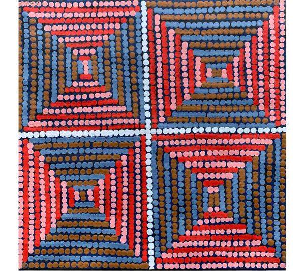 Aboriginal artwork by Gloria Napangardi Gill