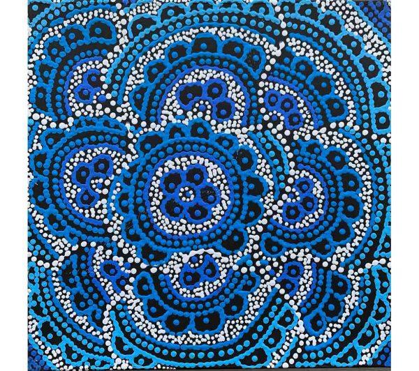 Aboriginal artwork by Kirsty Anne Napanangka Martin