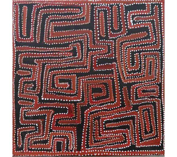 Aboriginal artwork by Pauline Napangardi Gallagher